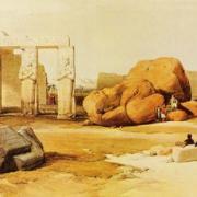Quel est le nom usuel donné au temple des millions d'années de Ramsès II ?