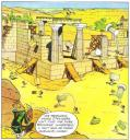 Quel grand monument d'égypte a été complètement démonté, puis remonté sur une autre île ?
