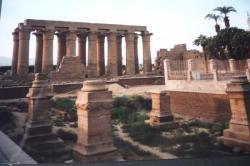 La colonnade d'Amenhotep III