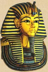 Le masque funaire de Toutankhamon exposé au musée du Caire.