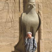 Par quel animal est symbolisé le dieu Horus ?
