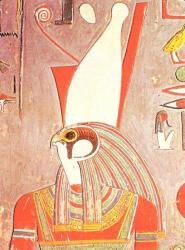 Horus (tombeau d'Horemheb, XVIIIème dynastie).
