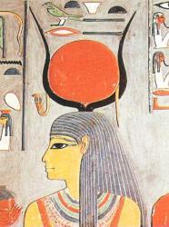 Hathor - Tombe d'Horemheb - XVIIIème dynastie.