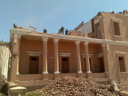 Louxor les belles maisons victoriennes en cours de d molition - Jeux de demolition de maison ...