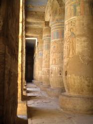 Temple de Ramsès III - Medinet Habou - 2004