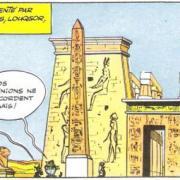 Où se trouve l'obélisque manquant devant le pylône du temple de Louxor ?