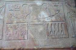la barque d'Amon (Chapelle rouge)