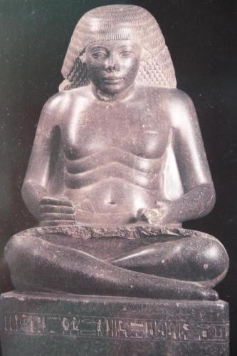 Amenhotep, fils de Hapou - Photo C.Duquesne