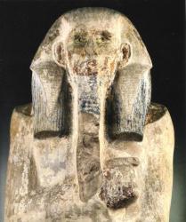 Statue de Djoser - Musé du Caire.