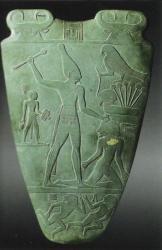Palette de Narmer - 3000 av.J.-C. musée du Caire.