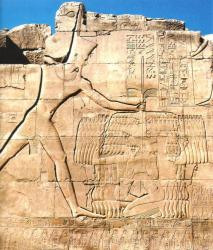 Thoutmosis III triomphant de ses ennemis - Karnak