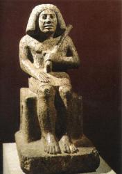 Statue d'Ankhoua - Londres British museum