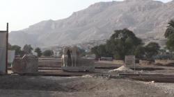 Le site du temple d'Aménophis III. Photo Pascal - Février 2009.