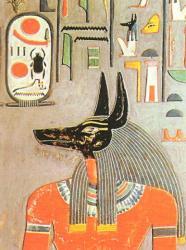 Anubis - Tombe d'Horemheb - XVIIIème dynastie.