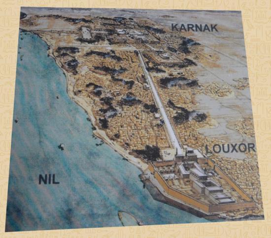 Le site Karnak - Louxor (Aufrère-Golvin)