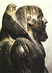 Satue de Khéphren - musée du Caire.