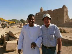 Momo et Christian Leblanc - Le Ramesseum