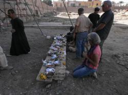 Repas au Ramesseum
