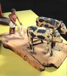 Maquette en bois - 2160-2055 av.J.-C.