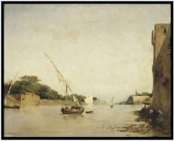 Grand vue sur le Nil - Eugene Fromentin - 1875