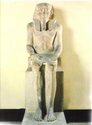 Sésostris 1er 1956-1911 av.J.-C. Musée du Caire.