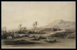 La Vallée du Nil - Temple de Sethi Ier (Thèbes, Gournah) Eugène Fromen