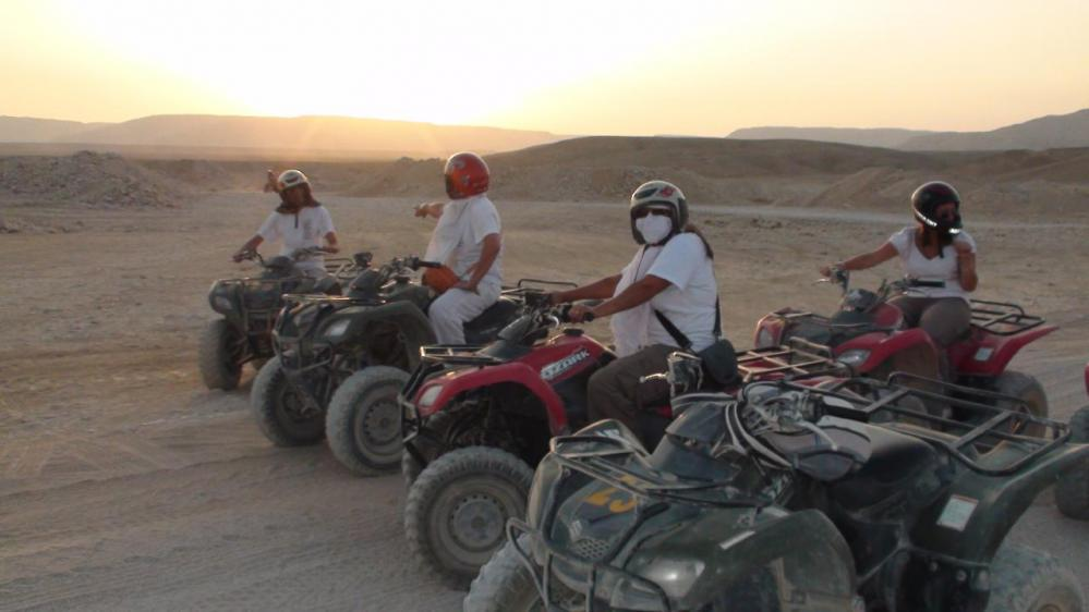 Trek dans le désert - Août 2010