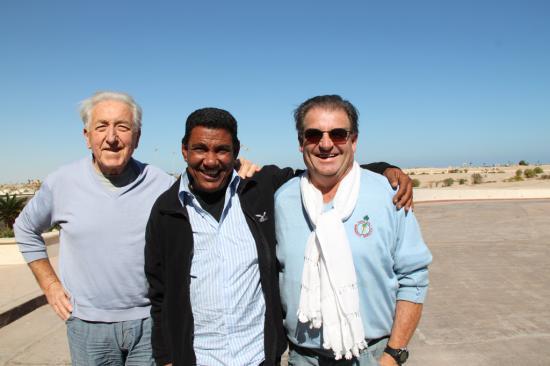 Guy, Momo et Jean-Pierre.