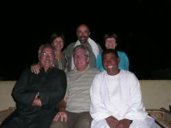 Joëlle, Annie, Francis, Philippe, Raymond et Mohamed (dans le désordre) .