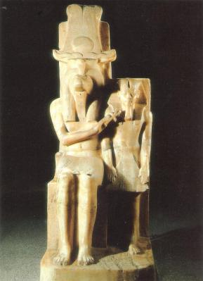 Amenhotep III et Sobek- 1390-1352avJC