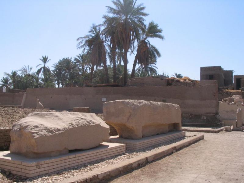 Vestiges du temple