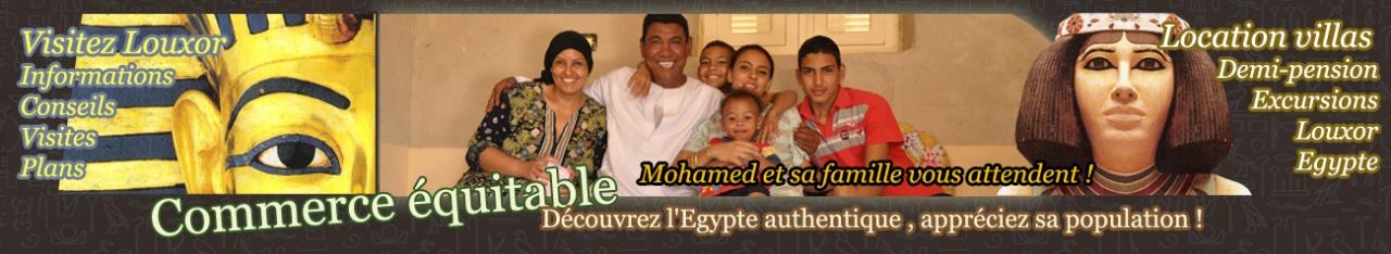 LOCATION VILLA - EXCURSIONS - INFOS SUR LOUXOR - EGYPTE