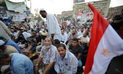 des-militants-pro-morsi-en-sit-in-le-3-aout-2013-sur-la-place-rabaa-al-adawiya-au-caire