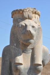 La déesse Sekhmet sous sa forme de lionne