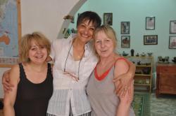 Marie, Christine et Marie-Claire