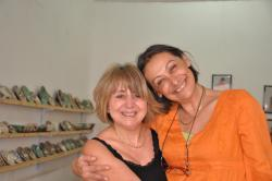 Marie avec Marie-Christine