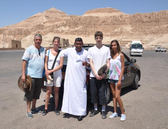 Christian, Pascale, Mohamed, Alexandre et Elodie