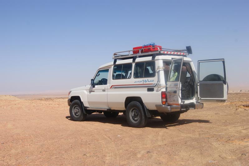 4X4 Toyata de Mohamed dans le désert