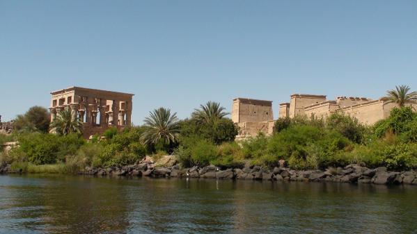 L'île d'Aguilkia et le temple de Philaé