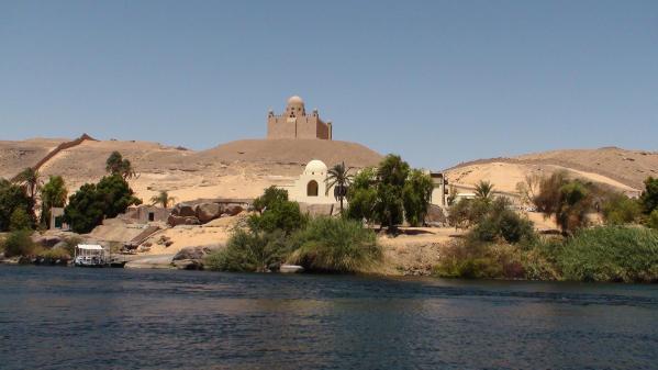 Le mausolée de l'Aga Khan
