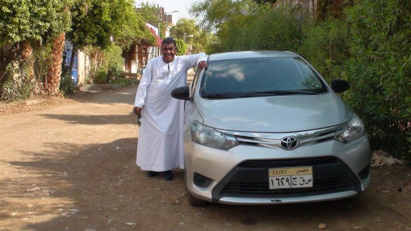 Mohamed et sa limousine
