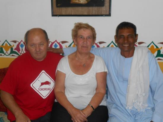 Daniel, Francine et Farag