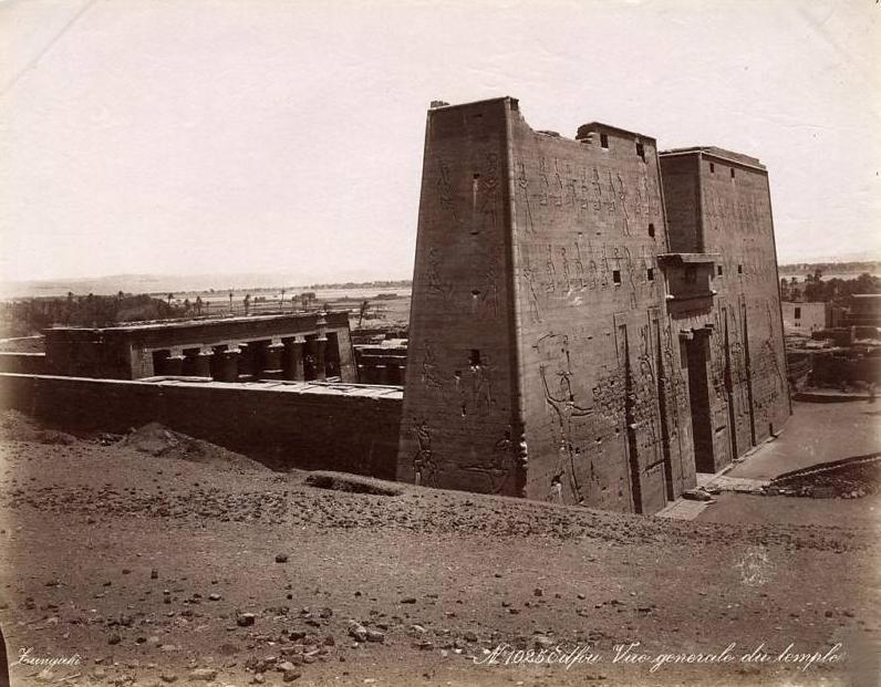 Egypt par georges et constantin zangaki circa 1885 edfou