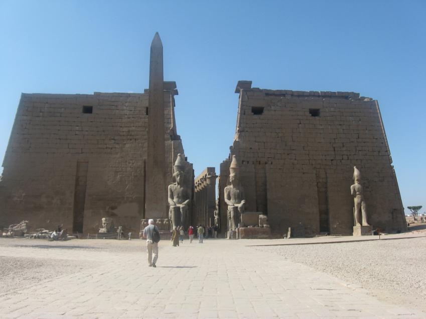 Temple de Louxor - Février 2008