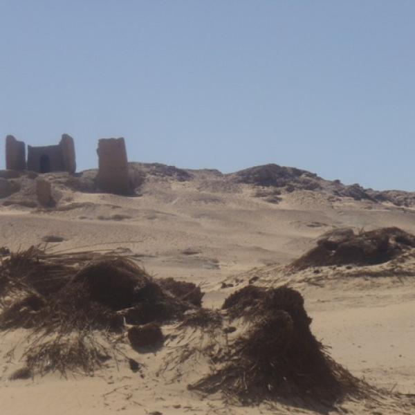 nécropole de Douch dans l'oasis d'El Kharga