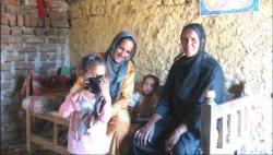Famille de la Westbank du quartier de Gezira