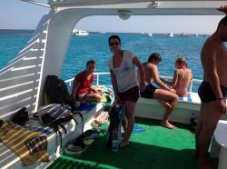 Sur le bateau - Août 2012