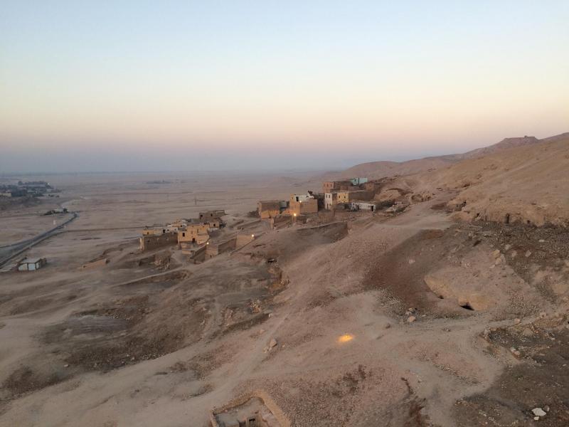 Le village de Gurnet Mutraïl