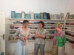 L'atelier de poterie de Christine
