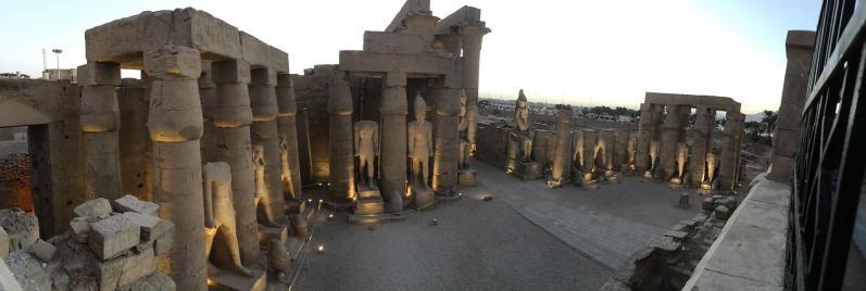 Cour de Ramsès II